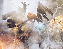 Avengers Poster Design.