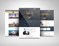 Personal Website for a client.
