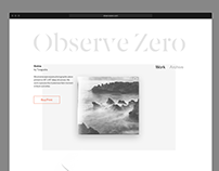 Observe Zero