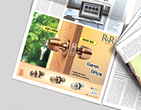 RFL door, Lock, Window, Press ad