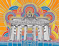 Berlin Drawing Meditation Series