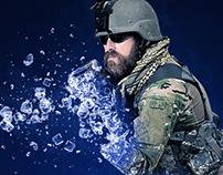 Ice Storm Photoshop Action
