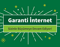 Garanti Bank Internet -Infographic Design