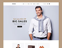 Zenna | Multi-Concept E-commerce Template