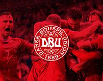 Ticket design for The Danish Football Association