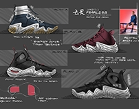 """SKETCHES OF AN """"FEARLESS"""" SERIES OG STYLE SOLE"""