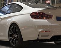 BMW M4 - Full CGI - 3D modelling - Rendering - Retouch