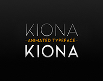 Kiona Animated Typeface