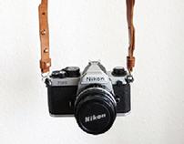 Camera Leather Strap
