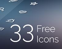 33 Free Icons