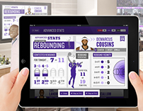 Sporting Stadium In-Suite Tablet Application