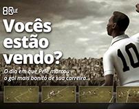 O gol mais bonito que o Pelé já fez!