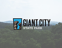 Giant City State Park Branding/Environmental Signage