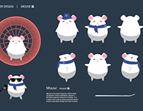 Character Design Collection: Mouse & Giraff 科學大爆炸原創角色設計