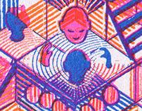 RECI - Risograph prints