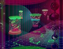 Sci Fi Background Design