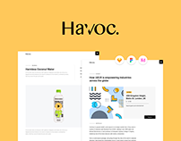 🔥 Havoc - The Agency UI Kit