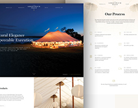 The Greenwich Tent Company Website Design