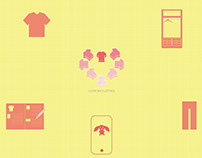APP Design - I Love My Clothes