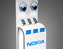 Stand & Booth designs for Microsoft / Nokia