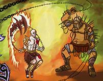 Kratos v Hades Jump Rope