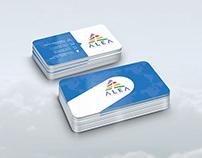 Alea Torism Agency Kartvizit Tasarımı