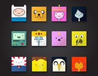 Adventure Time Icon Set
