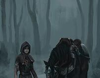 The grim squire