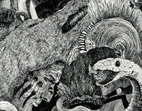 """Brave new world"" illustrations"