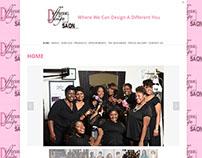 Different By Design Salon Web Site Makeover Feb 2015
