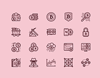 30+ Modern Cryptocurrency Icon Packs