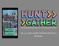 Hunt Gather - UX and Game Design Project