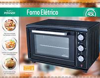Forno elétrico - POWNER