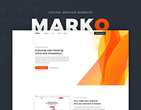 Marko - Digital Service Website