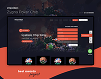 Zygna Poker Chip Egame Web Design
