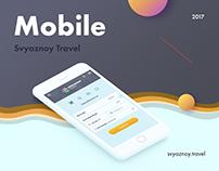 "Redesign mobile version service ""Svyaznoy Travel"""
