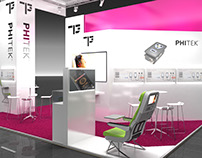 Phitek Booth Visualization for BBCO MesseManufaktur