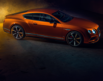 Flame Orange - Bentley Continental GT V8S