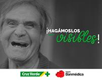 Cruz Verde/Banmédica - Hagámoslos visibles