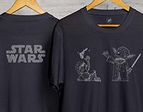 T-Shirt Design Star Wars