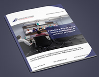 Brochure/Company Profile Design for AMTECH