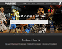 Sports Events Sharing Web-Page Template Design Nexstair