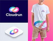 Cloudrun Logo and Brand Identity