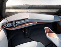 BMW - VISION NEXT 100 - Interior 3D Modeling