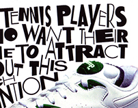 "Reebok ""Attention"" Ad — early Digital Type circa '92"