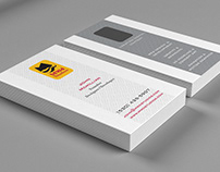 MWd Studios Business Card Mockup