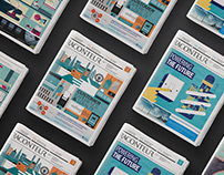 Raconteur Illustration and Infographic Collection