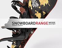 Wedze snowboard range 2016 - 2017