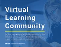 NCCCS Virtual Learning Community