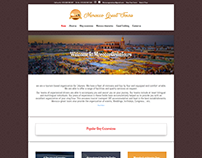 Morocco Great Tours, travel agency website